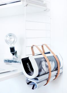 DIY: Enkel och snygg tidningshållare