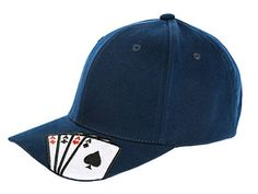 21 All-In Poker Gift Ideas for the Card Shark in Your Life - We all know hiding aces IN your hat is totally taboo, but there's no harm in sporting a hat with aces ON it, am I right?