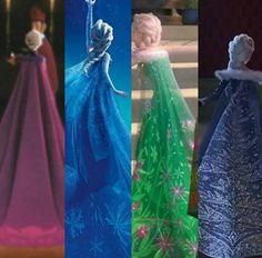 Elsa - The girl likes a cape, train if that's what you call it shut up she looks great Disney Pixar, Princesa Disney Frozen, Disney Princess Frozen, Disney Memes, Elsa Frozen, Disney And Dreamworks, Disney Animation, Disney Magic, Disney Art