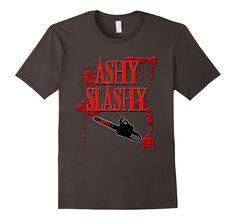Amazon.com: Ashy Slashy Chainsaw Shirt: Clothing