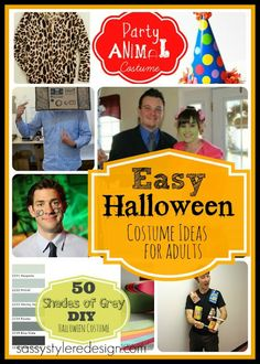 Easy Halloween Costume Ideas for Adults