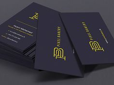Pixel Bakery Business Card | Business Cards | The Design Inspiration