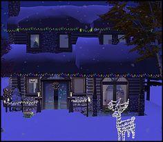 Mod The Sims - Christmas Cabin