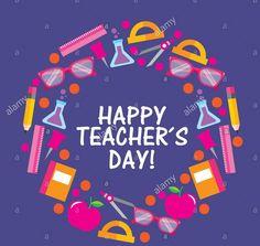 Teachers Day Card Design, Happy Teachers Day Card, Teachers Day Greetings, Teachers Day Poster, Teacher Cards, Invitation Cards, Invitations, Free Flyer Templates, Teachers' Day