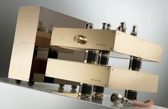 Dalby Audio Design D7L Ultimate Line Preamplifier with 12B4a tubes, Kyoku mains transformers for noise free operation, Duelund silver and copper capacitors, and acoustically dampened chassis.