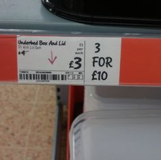 Bargain! ;-D Little bit of a supermarket pricing fail there...