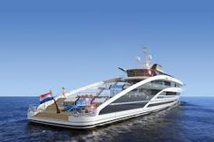 Measuring a massive 83 meters in length, the aptly named Heesen Project Maximus Yacht borrows tricks from cruise ship design to make the most of. Super Yachts, Big Yachts, Cabin Cruiser, Yacht Design, Rolex Submariner, Catamaran, George Clooney, Barack Obama, Pch Dream Home