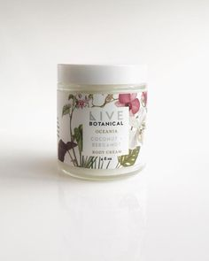 Oceania Body Cream in Coconut & Bergamot Organic Coconut Oil, Organic Oil, Micro Garden, Neroli Oil, Lotion For Dry Skin, Roll On Bottles, Clean Beauty, Bergamot, Body Butter