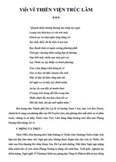 Viết Về Thiền Viện Trúc Lâm ->> http://khotrithuc.com/2272/Viet-Ve-Thien-Vien-Truc-Lam.html