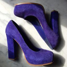 Steve Madden Blue Suede Heels Blue suede heels from Steve Madden. Size 8.5. Steve Madden Shoes Heels