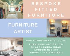 Furniture Artist can provide you top-quality bespoke fitted furniture, Custom made Wardrobes, made to measure wardrobes according to your home interior design. White Fitted Wardrobes, Traditional Fitted Wardrobes, Contemporary Fitted Wardrobes, Contemporary Bedroom, Bespoke Furniture, Furniture Styles, Made To Measure Wardrobes, Wardrobe Furniture, Built In Wardrobe