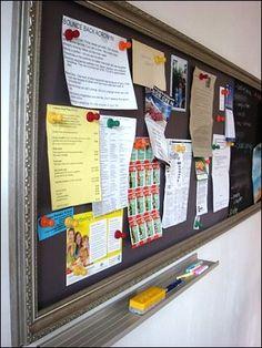Magnetic Paint Bulletin Board