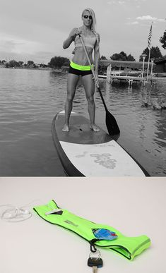 Paddleboard with the FlipBelt!