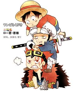 Luffy Law Kid