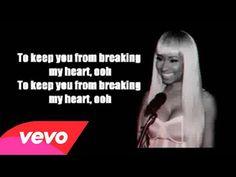 Nicki Minaj - I Lied (lyrics)