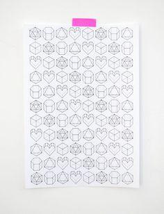 Valentines imprimables enveloppement