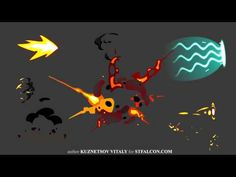 2d effects for a game - YouTube