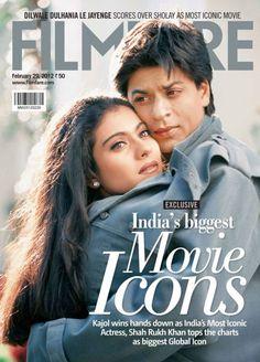 SRKajol at Filmfare Cover