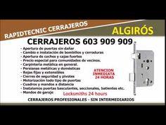CERRAJEROS ALGIROS 603 909 909 VALENCIA
