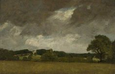 Malvern Hall from the South-West, by John Constable, 1809.