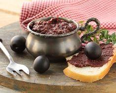 Mousse d'olives noires