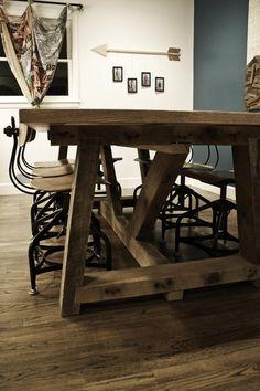 Ellis Farm Table in Amarillo, Texas ~ Apartment Therapy Classifieds