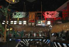 Cabo Wabo with Sammy, Julie, and the boys. I have done some fun things in this life! :)
