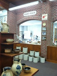 Red Wing Pottery in Red Wing, MN Red Wing Minnesota, Red Wing Mn, Red Wing Pottery, Antique Pottery, Red Wing Stoneware, Antique Crocks, White Bear Lake, Road Trips, Old Houses