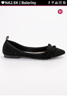 Semišové čierne baleríny s volánom Corina Tommy Hilfiger, Platform, Adidas, Flats, Shoes, Fashion, Flat Shoes Outfit, Shoes Outlet, Fashion Styles