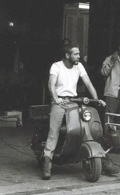 OK, motorcycle style...Paul Newman is the man!