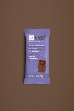 Is your little one craving a delicious snack? RX Kids Double Chocolate Protein Snack Bars are made with real chocolate and simple ingredients like gluten-free oats, egg whites, and dates. Plus, each bar is packed with 5g of protein. RX Kids Protein Snack Bars make snacktime simple for parents and delicious for kids.