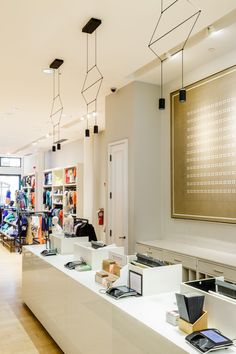 An Illuminating Retail Experience - Vibia Pendant Lamp, Pendant Lighting, Design Apartment, Suspended Lighting, Residential Lighting, Commercial Lighting, Interior And Exterior, Light Fixtures, Coastal