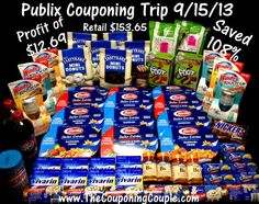 Awesome Publix Savings on 9-15... we were paid to shop! See details!