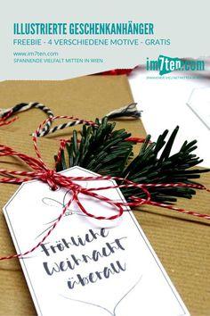 Wenn du schon die ersten Geschenke besorgt hast, die natürlich nicht entdeckt werden wollen, dann pack die Überraschungen – husch, husch – ins Packpapier und verzier sie mit den Geschenkanhängern. Schnell noch den Namen des Christkindls hinten draufschreiben, das das Geschenk am 24. Dezember auspacken wird und schwupp hinein in meinen gut versteckten Geschenkekorb. * * * #im7ten #neubau #weihnachten #geschenkanhänger #geschenke #überraschung #christmas #presents #christkind Blog, Gift Wrapping, Gifts, Brown Paper, New Construction, December, Names, Gift Wrapping Paper, Presents