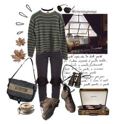 Untitled #981 by plumpyprincess on Polyvore featuring Prada, OneTeaspoon, Dr. Martens, Charlotte Russe, Topshop, Crosley and Old Navy