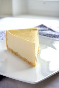 Light New York-Style Cheesecake from a registered dietician | Just ...