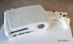 Xbox 360 cake 2010