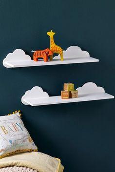 Cloud Shape Hanger Hook Wall Door Hooks For Kids Childrens Room Decoration BL