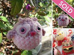 Valentine Love Owl ...SOLD
