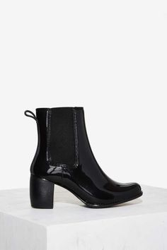 Jeffrey Campbell Clima Rain Bootie - Boots + Booties