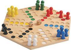 Mühle Spiel Holzspiel groß Mensch ärgere dich nicht