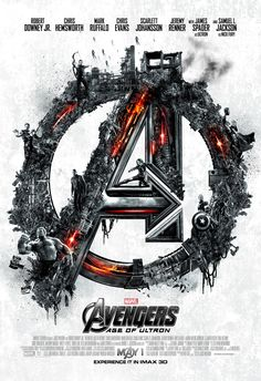 IMAX Poster 1. Avengers: Age of Ultron.