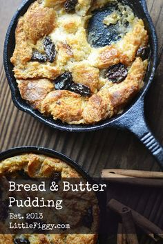 Bread Pudding, the perfect cozy comfy food!
