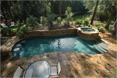Amazing Small Swimming Pool Ideas 24 If you don't need to install permanent pool fencing, a removable wrought iron pool fence might satisfy your needs. Furthermore, the pool water often loses the heat and therefore, must be heat… Pool Garden, Backyard Pool Landscaping, Backyard Pool Designs, Small Backyard Landscaping, Backyard Ideas, Pool Ideas, Bar Ideas, Small Swimming Pools, Small Pools