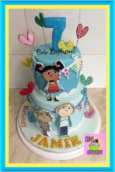 Charlie and Lola by Cake Explosion
