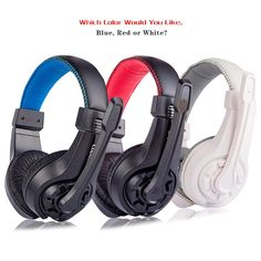 Stereo Gaming Headset Wired earphone Game headphone with microphone noise canceling headphones for computer pc game music