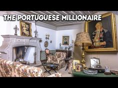 Abandoned Houses, Abandoned Places, Millionaire Mansion, Places In Portugal, Portuguese, The Incredibles, Mansions, Antiques, Decay
