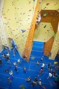 Get your climb on @ Portland Rock Gym