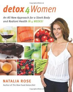 In her ten years of working privately with celebrity clients at leading Manhattan spas, Natalia Rose has discovered that traditional detox plans don't work for adult women. In fact, doing the wrong kind of detox can make their symptoms even worse!   With Detox 4 Women, Rose has formulated a very specific detox prescription that is easy to follow and gentle on the system, yet yields fantastic results that are both immediate and l...