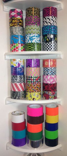 My collection of Duck Tape® duct tape, I swear I can quit any time I want!